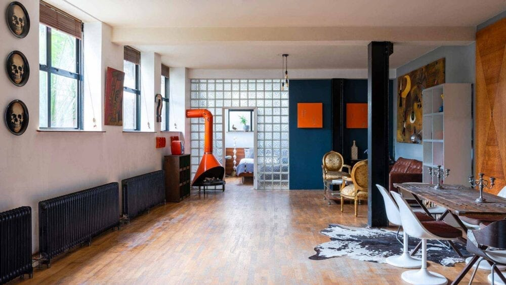 Open Plan Warehouse Apartment, Whitechapel E1