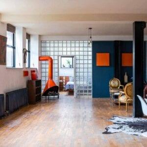 Open Plan Warehouse Apartment, Whitechapel E1