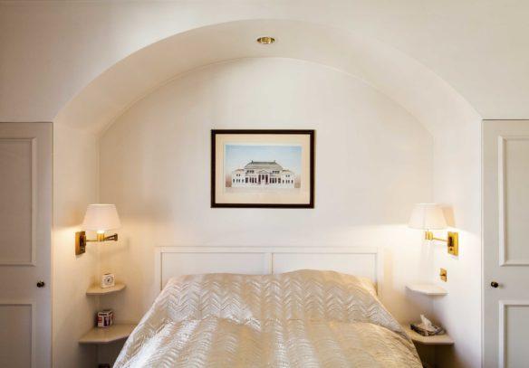 Reeves Mews apartment view of bedroom