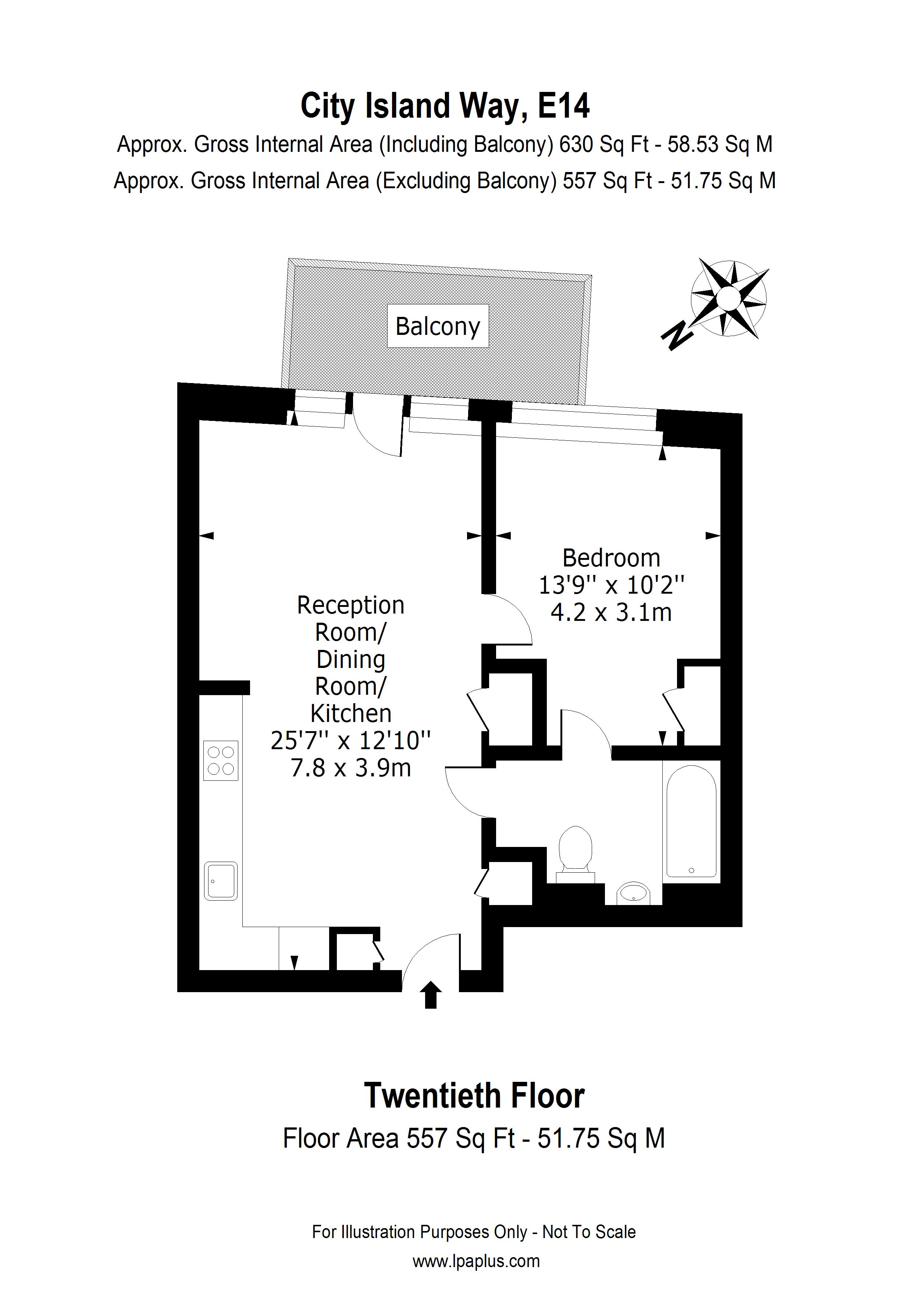 Defore House floorplan