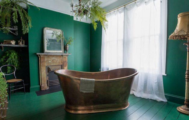 Designer victorian house interior