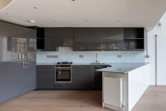 kitchen at bankside lofts se1