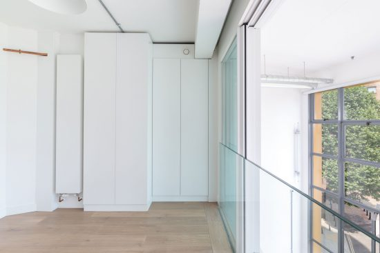 mezzanine floor at banksode lofts apartment