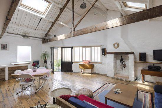 converted workshop in london