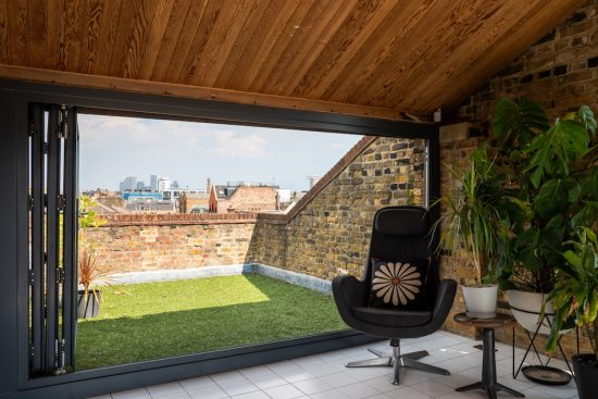 roof terrace at tyers gate se1