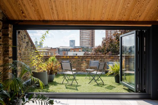 second roof terrace at tyers gate se1