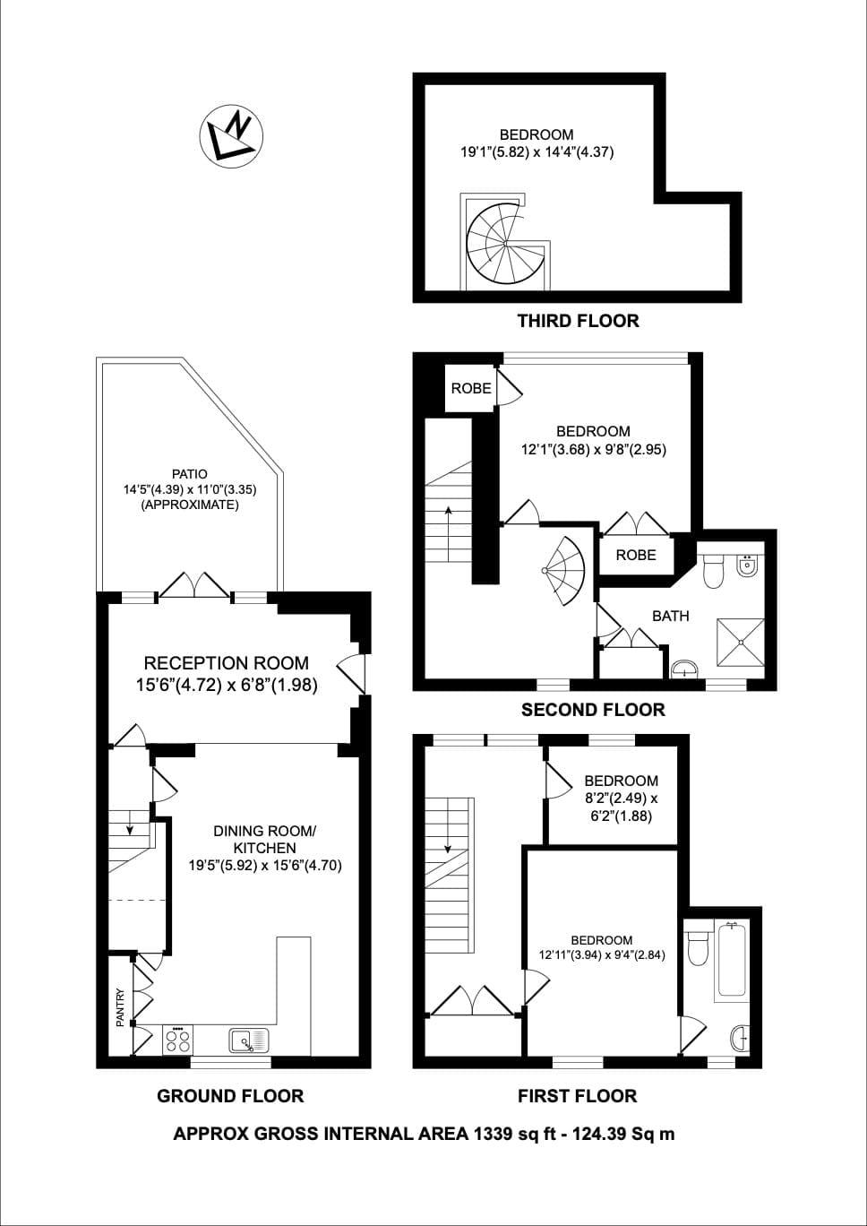 floorplan school conversion holborn london