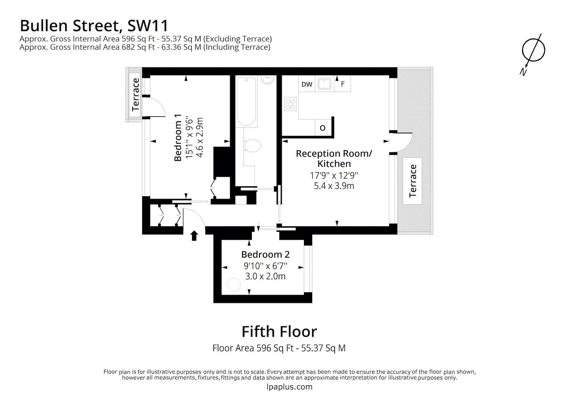 goulden house bullen street sw11 floorplan
